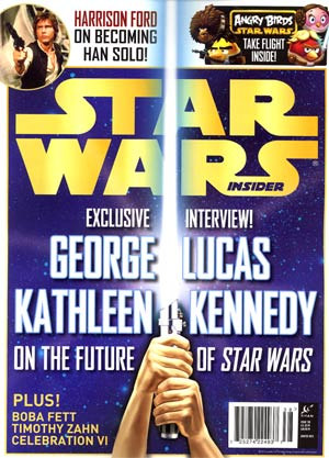 Star Wars Insider #138 Jan / Feb 2013 Newsstand Edition