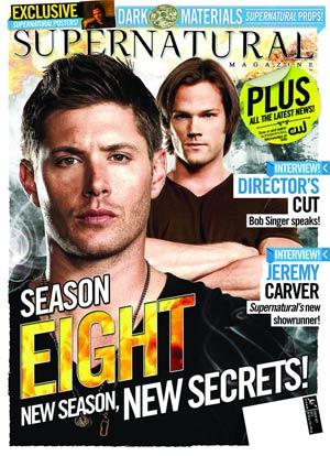 Supernatural Magazine #37 Newsstand Edition