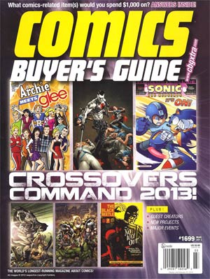 Comics Buyers Guide #1699 Mar 2013