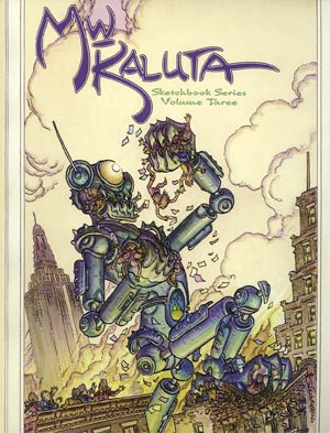 Michael William Kaluta Sketchbook Series Vol 3 SC