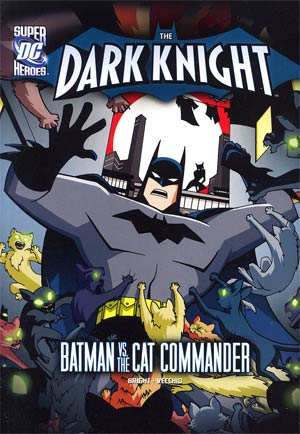 DC Super Heroes Dark Knight Batman vs The Cat Commander Young Readers Novel TP