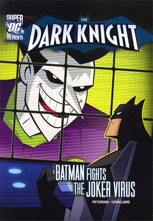 DC Super Heroes Dark Knight Batman Fights The Joker Virus Young Readers Novel TP