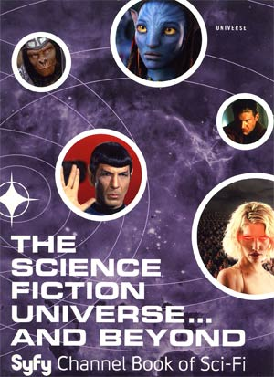 Science Fiction Universe And Beyond Syfy Channel Book Of Sci-Fi HC