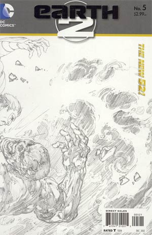 Earth 2 #5 Incentive Ivan Reis Sketch Cover