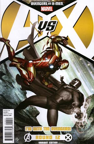 Avengers vs X-Men #12 Cover B Variant Team Avengers Cover