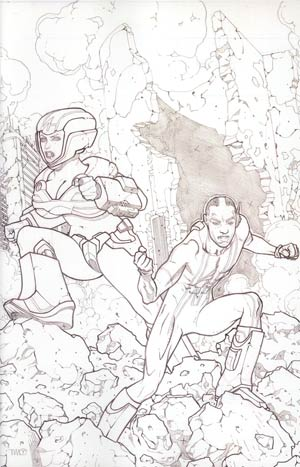 Hypernaturals #4 Incentive Timothy Green II Virgin Variant Sketch Cover
