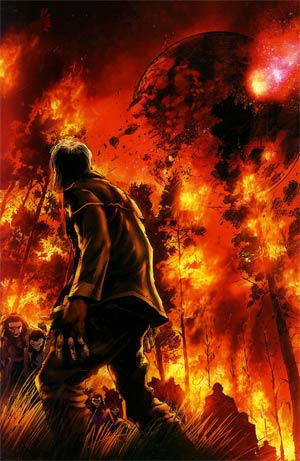 Planet Of The Apes Cataclysm #2 Incentive Trevor Hairsine Virgin Variant Cover