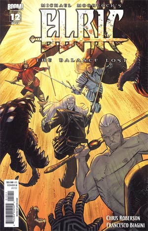 Elric The Balance Lost #12 Regular Cover B Matteo Scalera