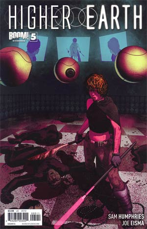 Higher Earth #5 Regular Cover A Frazer Irving