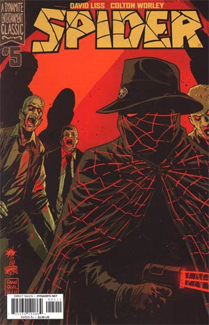 Spider #5 Regular Francesco Francavilla Cover