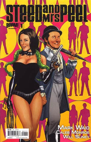 Steed And Mrs Peel Vol 2 #1 Regular Cover B Mike Perkins