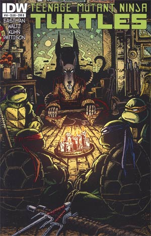 Teenage Mutant Ninja Turtles Vol 5 #14 Regular Cover B Kevin Eastman