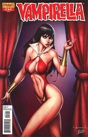Vampirella Vol 4 #23 Regular Ale Garza Cover
