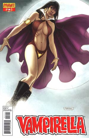 Vampirella Vol 4 #23 Regular Fabiano Neves Cover
