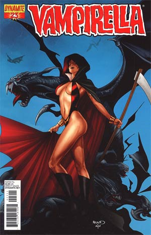 Vampirella Vol 4 #23 Regular Paul Renaud Cover