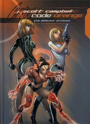 J Scott Campbell Code Orange The Defector Archives HC