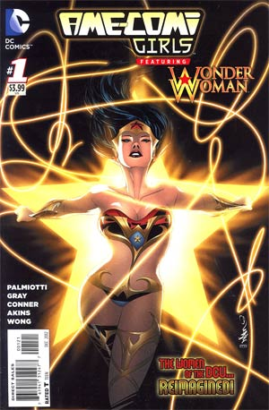 Ame-Comi Girls #1 Cover B Featuring Wonder Woman Incentive Dustin Nguyen Variant Cover