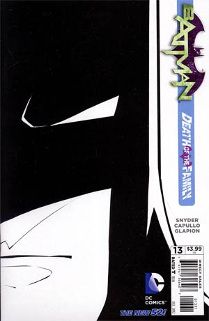 Batman Vol 2 #13 Incentive Greg Capullo Sketch Cover (Death Of The Family Tie-In)