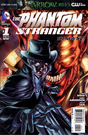 Phantom Stranger Vol 4 #1 Incentive Shane Davis Variant Cover