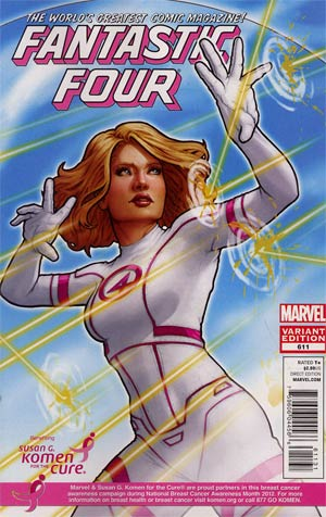 Fantastic Four Vol 3 #611 Variant Susan Komen Cover