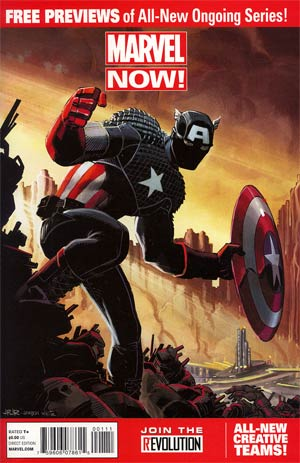 Marvel Now Previews #1 - FREE -