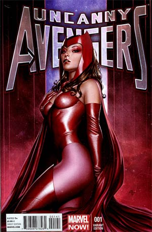 Uncanny Avengers #1 Incentive Adi Granov Variant Cover