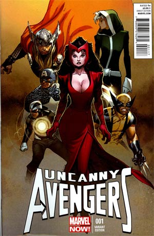 Uncanny Avengers #1 Incentive Olivier Coipel Variant Cover