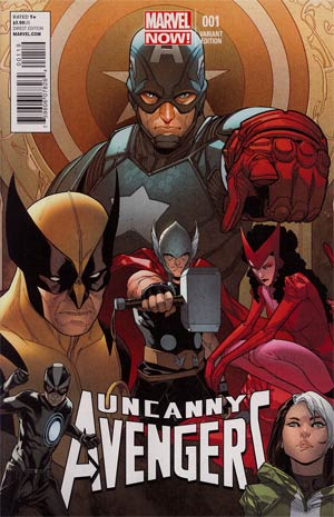 Uncanny Avengers #1 Variant Sara Pichelli Cover