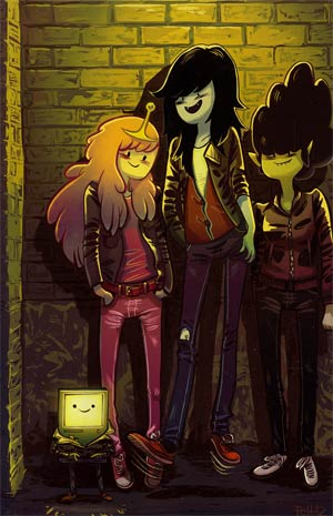 Adventure Time Marceline And The Scream Queens #4 Cover C Incentive Faith Erin Hicks Virgin Variant Cover