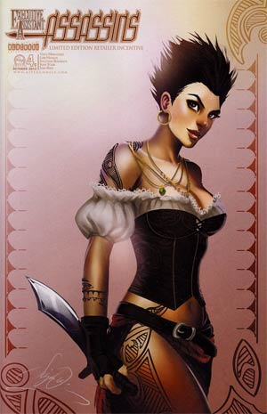 Executive Assistant Assassins #4 Incentive Siya Oum Pirate Variant Cover
