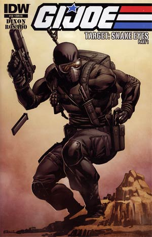GI Joe Vol 5 #18 Incentive Robert Atkins Variant Cover