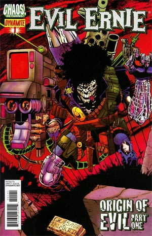 Evil Ernie Vol 3 #1 Incentive Joe Quesada Classic Art Variant Cover