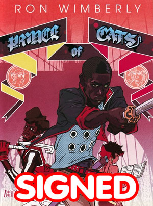 Prince Of Cats TP Signed By Ronald Wimberly