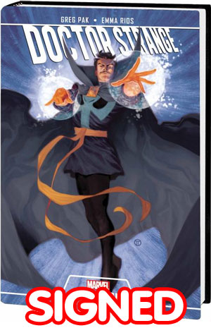 Doctor Strange Season One HC Signed By Greg Pak