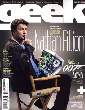 Geek Magazine Vol 1 #3 Oct 2012