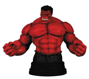 Red Hulk Previews Exclusive Mini Bust By Gentle Giant