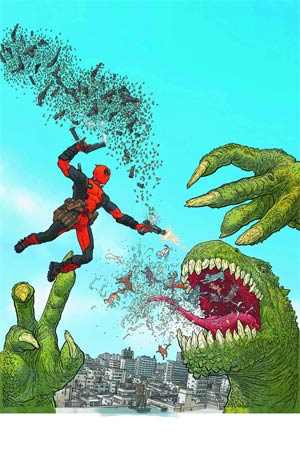Deadpool By Geof Darrow Poster