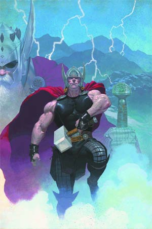 Thor God Of Thunder By Esad Ribic Poster