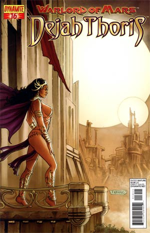 Warlord Of Mars Dejah Thoris #16 Regular Fabiano Neves Cover
