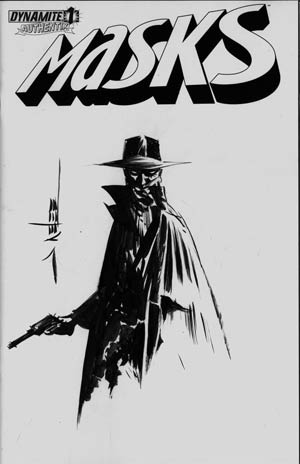 Masks #1 Incentive Jae Lee Hand-Drawn Cover - Shadow B