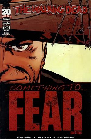 Walking Dead #100 3rd Ptg