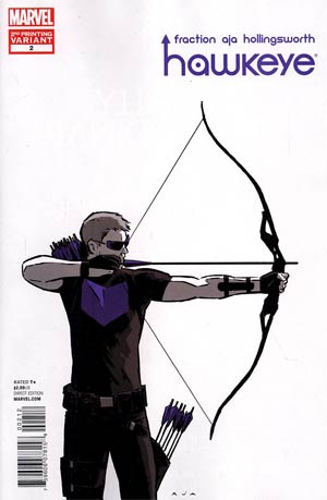 Hawkeye Vol 4 #2 2nd Ptg David Aja Variant Cover