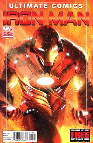 Ultimate Comics Iron Man #1 Incentive Gabriele Dell Otto Variant Cover