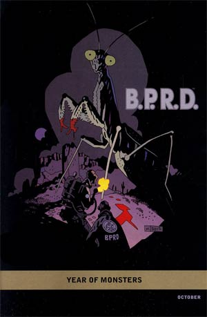 BPRD 1948 #1 Incentive Mike Mignola Year Of Monsters Variant Cover