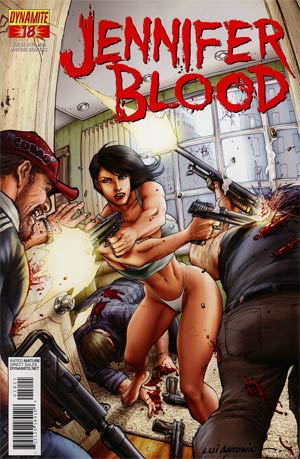 Garth Ennis Jennifer Blood #18 Incentive Lui Antonio Risque Variant Cover