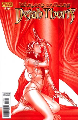 Warlord Of Mars Dejah Thoris #17 Incentive Paul Renaud Martian Red Cover