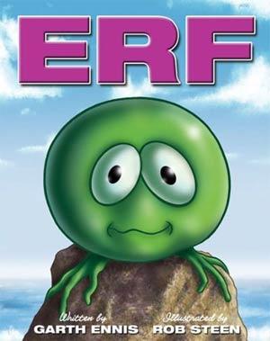 Erf HC By Garth Ennis & Rob Steen Limited Signed & Numbered Edition