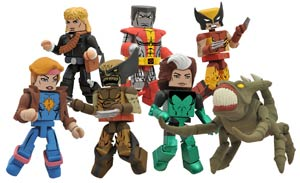 Marvel Minimates Series 47 Variant Infected Wolverine & Brood 2-Pack