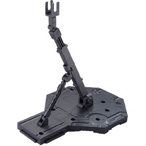 Gundam Model Kit Action Figure Display Stand High Grade 1/144 & Master Grade 1/100 Scale - Action Base 1 Black