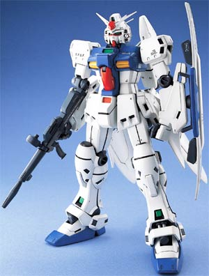 Gundam Model Kit Action Figure Master Grade 1/100 Scale - Gundam GPO3S E.F.S.F. Attack Use Prototype Mobile Suit